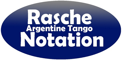 Write Argentine Tango steps with Rasche Notation !