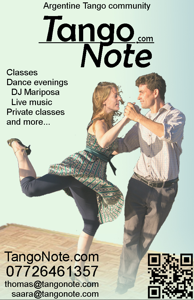 Argentine Tango in Bristol- Tango Note classes and information